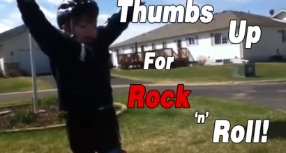 Thumbs Up for Rock and Roll!