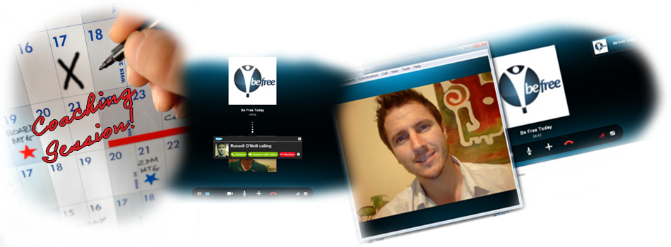 Connect with Be Free Today Skype Coaching