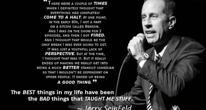 Jerry Seinfeld - The Best Things in Life...