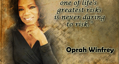 Oprah Quote poster