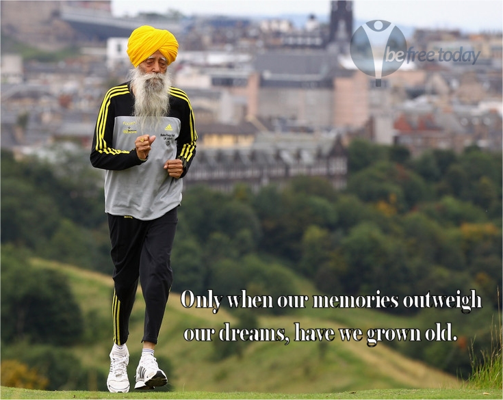 Fauja Singh - 100yr old record breaking marathon man