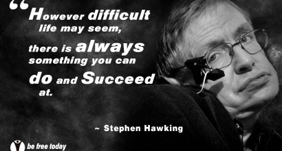 Stephen Hawking Quote - You Can Succeed