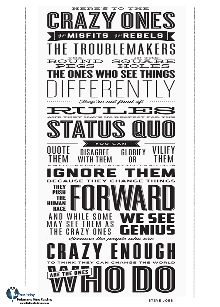 Think Different Poster - Steve Jobs