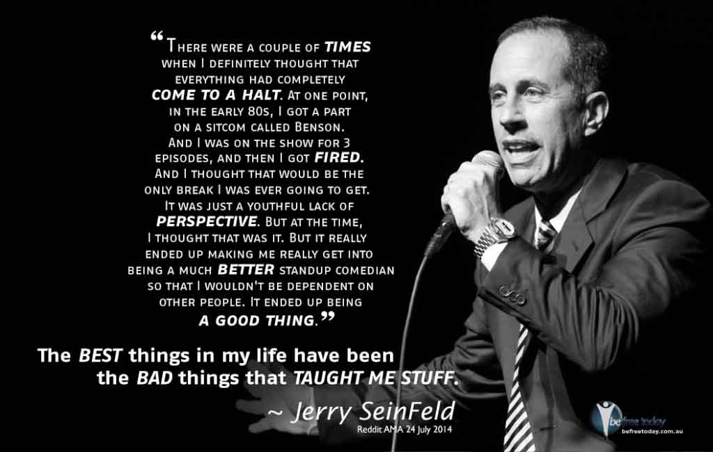 Seinfeld - Be Free Today - Best things in Life